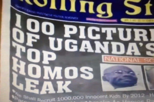 Rolling Stone Cover, Uganda 2011